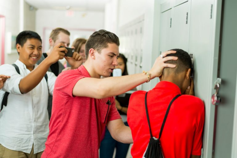 the problem of bullying against lgbtq students Gay, lesbian, bisexual, and transgender students often face a lot of turmoil and outright discrimination in high school it is still legal in many parts of the country for school staff to discriminate against lgbt students, and anti-lgbt bullying is still very common in american schools.