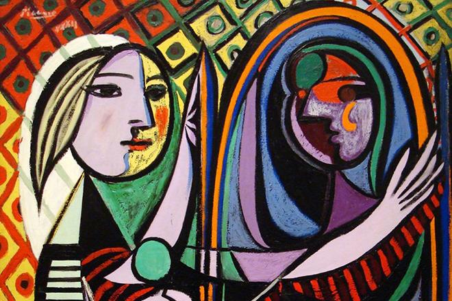 "Пикассо ""Девушка перед зеркалом"""