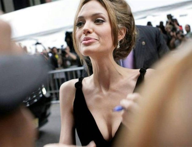 Анорексия Джоли