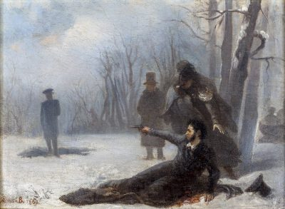 Дуэль Пушкина и Дантеса