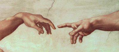 «Сотворение Адама» Микеланджело Буонарроти