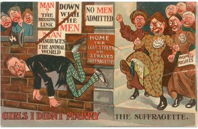 Антифеминистский постер