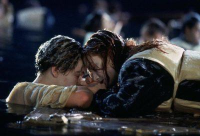 """Джек и Роза на льдине """"Титаник"""""""