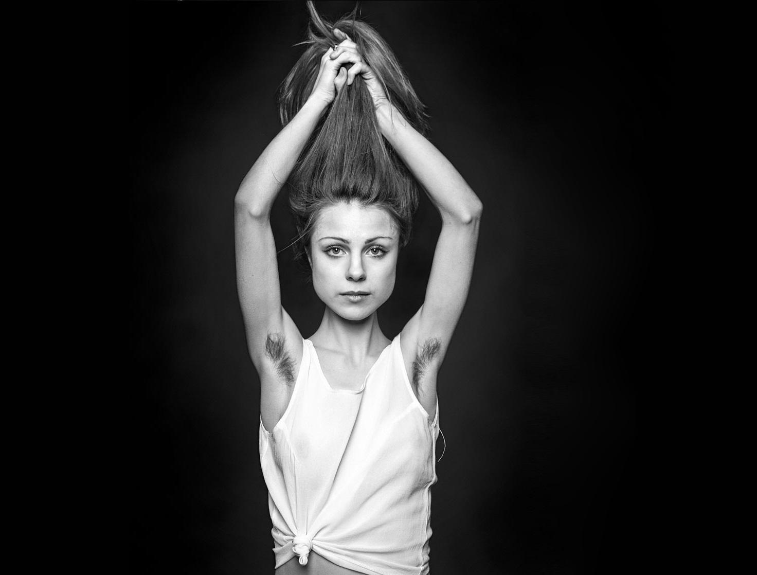 фото самых волосатых женских подмышек