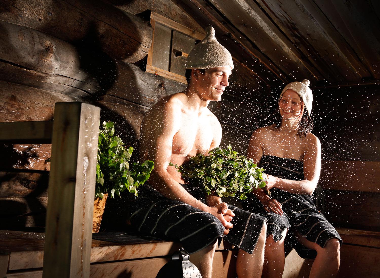 вами ночные приключения в бане зимний